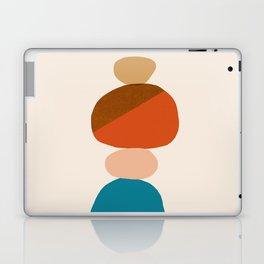 Abstraction_Rocks_Balance_Minimalism_001 Laptop & iPad Skin
