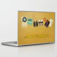 moonrise kingdom Laptop & iPad Skins featuring Moonrise Kingdom by Lindsey Pudlewski