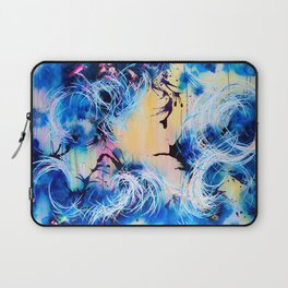 Falling Towards The Sky Laptop Sleeve