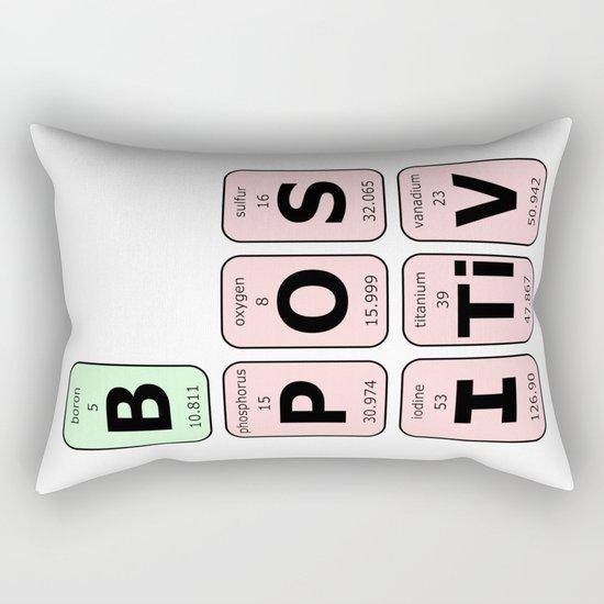 Be Positive Rectangular Pillow
