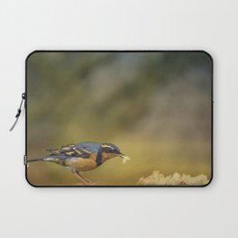 Thrush with Bread Laptop Sleeve