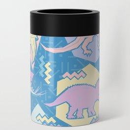 Nineties Dinosaurs Pattern  - Pastel version Can Cooler