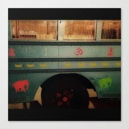 Lotus Bus Upclose Canvas Print
