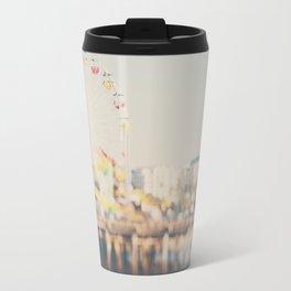 santa monica pier ...  Travel Mug