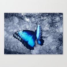 Blue Picture Perfect Canvas Print