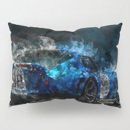 Shelby Daytona Coupe at Night Pillow Sham