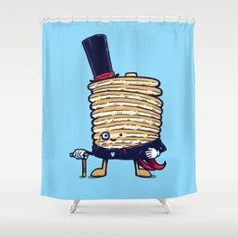 Fancy Captain Pancake Shower Curtain