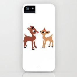 Classic Rudolph and Clarice iPhone Case