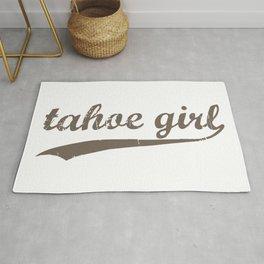 Tahoe Girl Co-ed Chocolate Rug