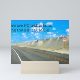 The Extra Mile Mini Art Print