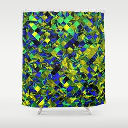 zappy Jumbled 1 Shower Curtain