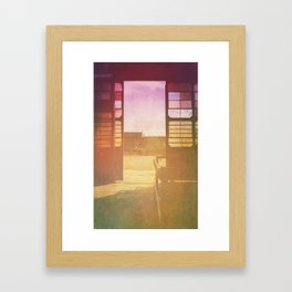 Life Cycle Framed Art Print