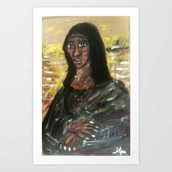 SHAMONA LISA Art Print
