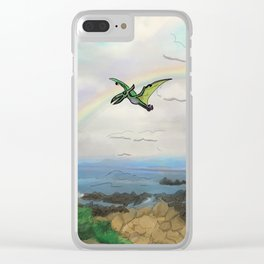 Flight of Fancy Clear iPhone Case
