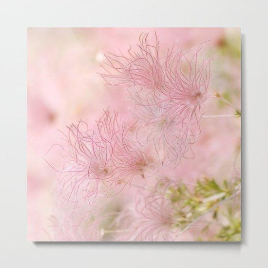 Pink Whispers Metal Print