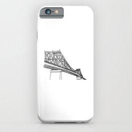 Montreal - Pont Jacques-C - Black iPhone Case