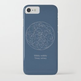 Doctor Who: Wibbly Wobbly iPhone Case