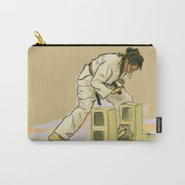 Broken Brick Carry-All Pouch