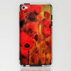 FLOWERS - Poppy reverie iPhone & iPod Skin