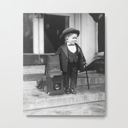 Major Mite, 1922. Vintage Photo Metal Print