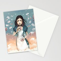 It's time for tea Alice Stationery Cards