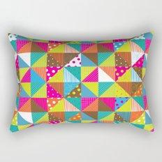 Crazy Squares Rectangular Pillow