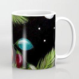 TINY BABY OWL - 1ST CHRISTMAS TREE LIGHTS Coffee Mug