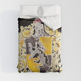 Hufflepuff Crest Comforters
