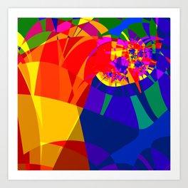 fractal composition N1 Art Print