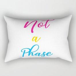 Not A Phase - Pan Pride Flag Rectangular Pillow