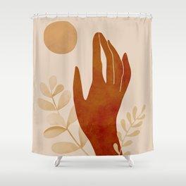 Hand Shower Curtain
