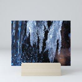 Ice Formations Mini Art Print