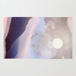Lavender Night Rug