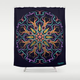 Indomitable Will Shower Curtain