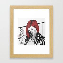 Redheads do it better ;) Framed Art Print