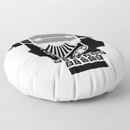 Writer's Block II Floor Pillow