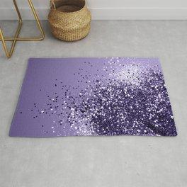 ULTRA VIOLET Glitter Dream #1 #shiny #decor #art #society6 Rug