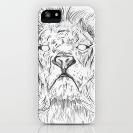 Ghost of a King iPhone Case
