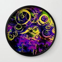 Crazy Town Wall Clock