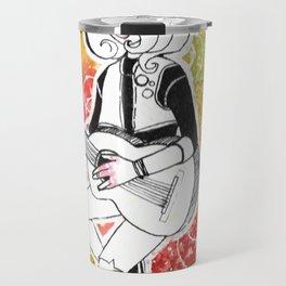 Coloured Music Travel Mug