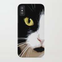 merlin iPhone & iPod Cases featuring MERLIN by SAMHAIN