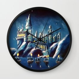 Magical Panorama Wall Clock