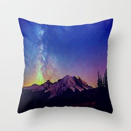 Milky Way V Throw Pillow
