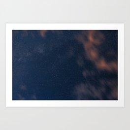 Galaxies II Art Print