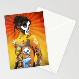 VooDoo Woman Stationery Cards