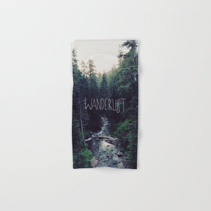 Wanderlust: Rainier Creek Hand & Bath Towel