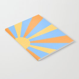 yellow and orange sunshine Notebook