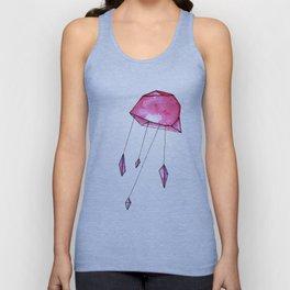 Geometric jellyfish Unisex Tank Top
