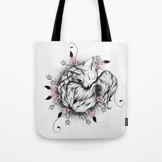 Little Fox Pink Version  Tote Bag