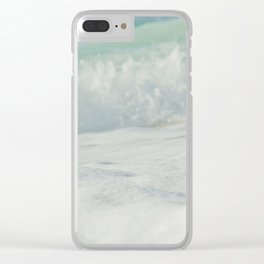 Sea Foam - Ocean Medley Clear iPhone Case